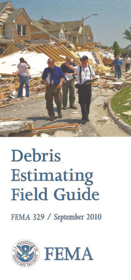 fema debris estimating guide